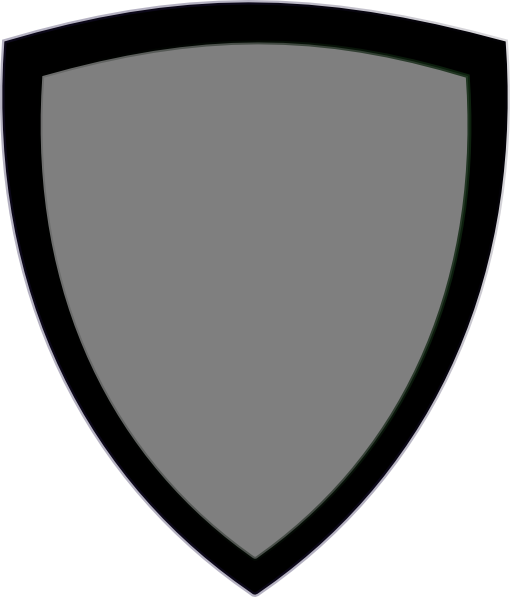 510x597 Gray Shield Clip Art