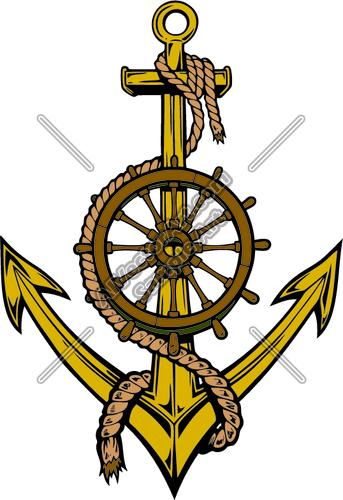 ship anchors clipart
