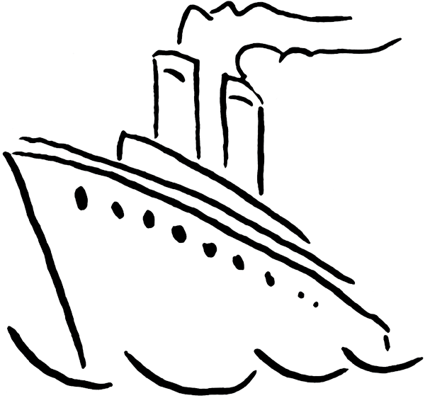 600x562 Cruise Ship Clipart Free Download Clip Art