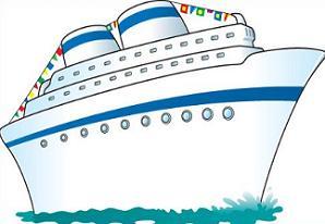 298x206 Free Cruise Ship Clipart
