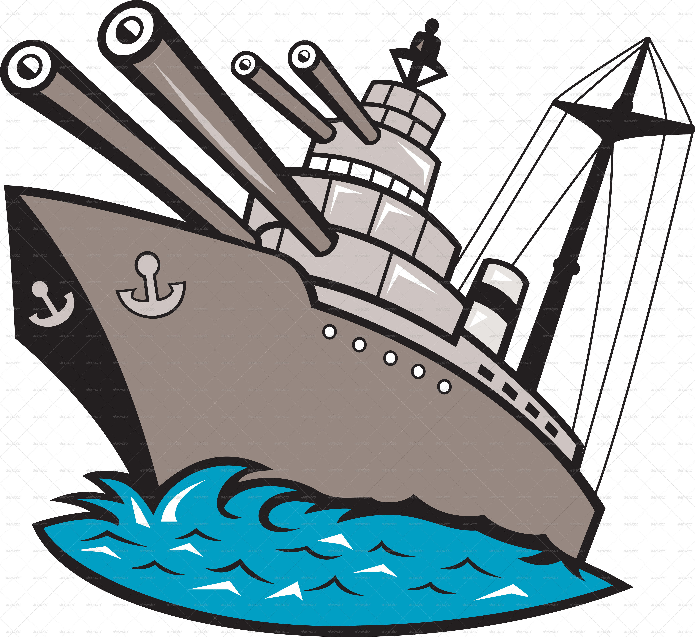 5121x4694 Navy Ship Clipart
