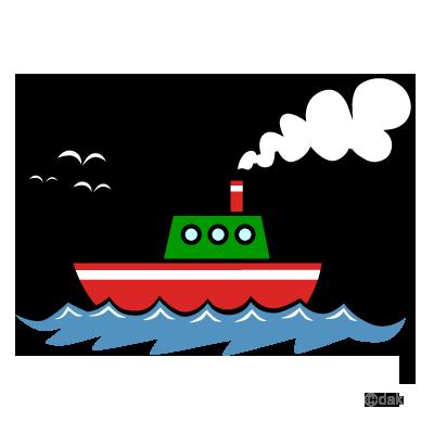 400x400 Ship Clipart Graphic