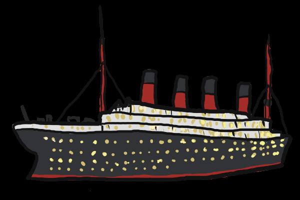 600x400 This Titanic Ship Clip Art Clipart Panda
