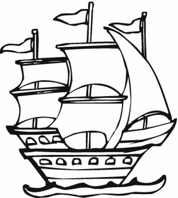 Ship Clipart Black And White | Free download best Ship Clipart Black ...