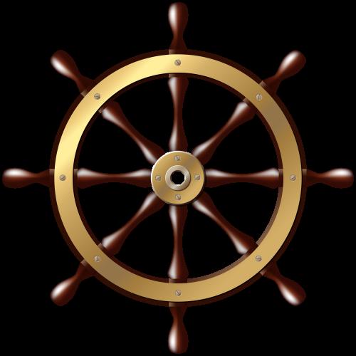 500x500 Ship Wheel Png Clip Art Ggggg Ship Wheel And Clip Art