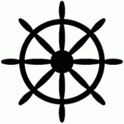 400x400 Ship Wheel Nautical Wheel Clipart Kid 2