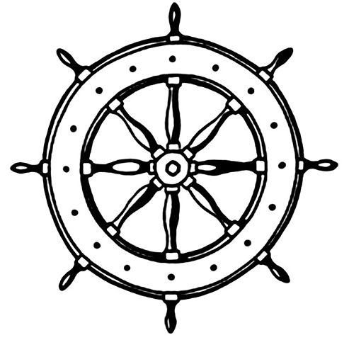 493x480 Ship Wheel Ship Steering Wheel Clipart Kid