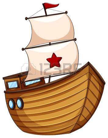 354x450 6,519 Wooden Boat Cliparts, Stock Vector And Royalty Free Wooden