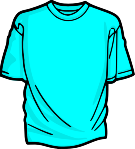 270x298 Blank T Shirt Light Blue Clip Art