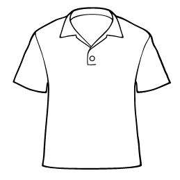 259x259 Drawn Shirt Clip Art