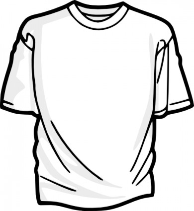 390x425 T Shirt Blank Shirt Clip Art Free Vector In Open Office Drawing