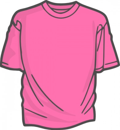 390x425 Clip Art Shirt Outline Free Vector For Free Download About Image