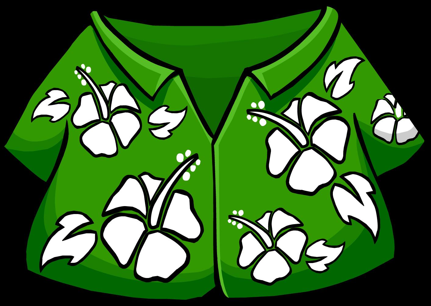 1414x1005 Best Hawaiian Shirt Clip Art
