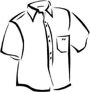 296x302 T Shirt White Shirt Clipart Clipart