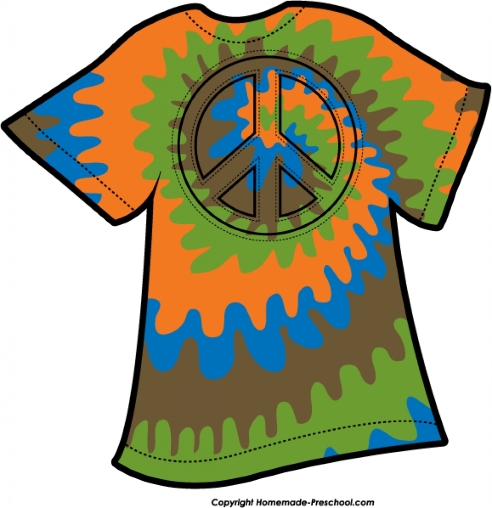 991x1024 Free Peace Sign Clipart Throughout Tie Dye T Shirt Clipart Tie Dye