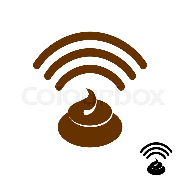 800x800 Wi Fi Shit. Wireless Transmission Of Clover. Remote Access