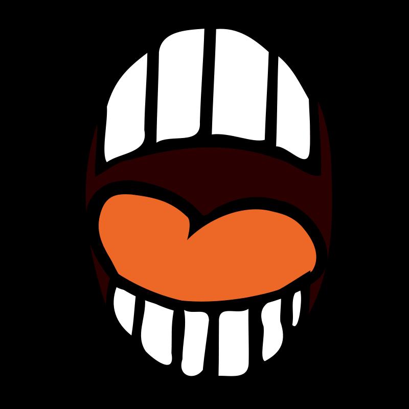 800x800 Open Mouth Clipart Biezumd