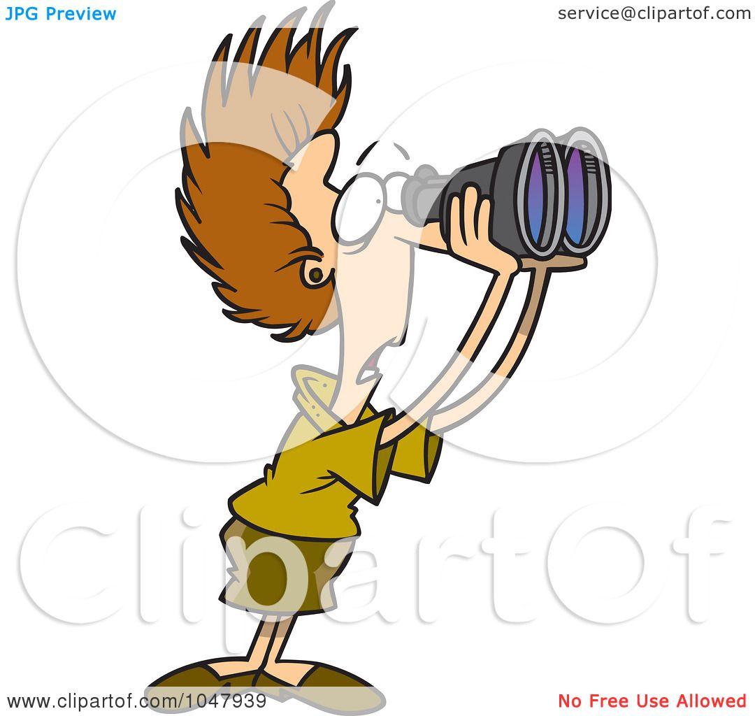 1080x1024 Royalty Free (RF) Clip Art Illustration of a Cartoon Shocked