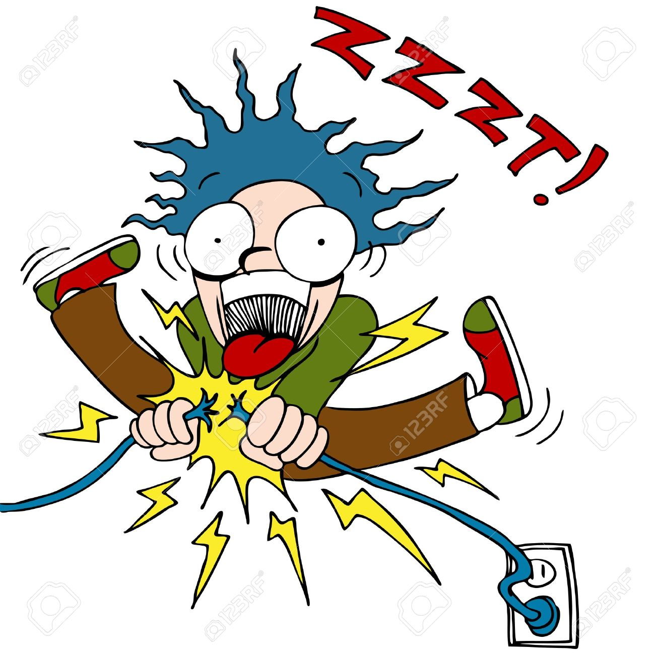 1300x1300 Shocking Clipart Electric Shock