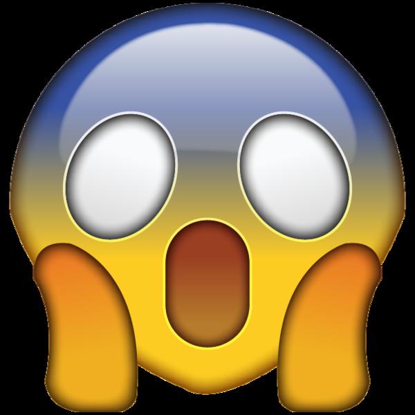600x600 High Resolution Omg Face Emoji
