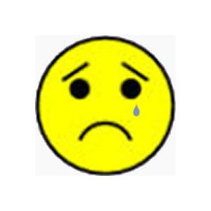 300x300 Sad Face Clip Art