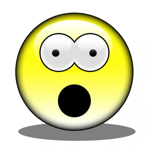505x505 Shocking Clipart Stunned Face