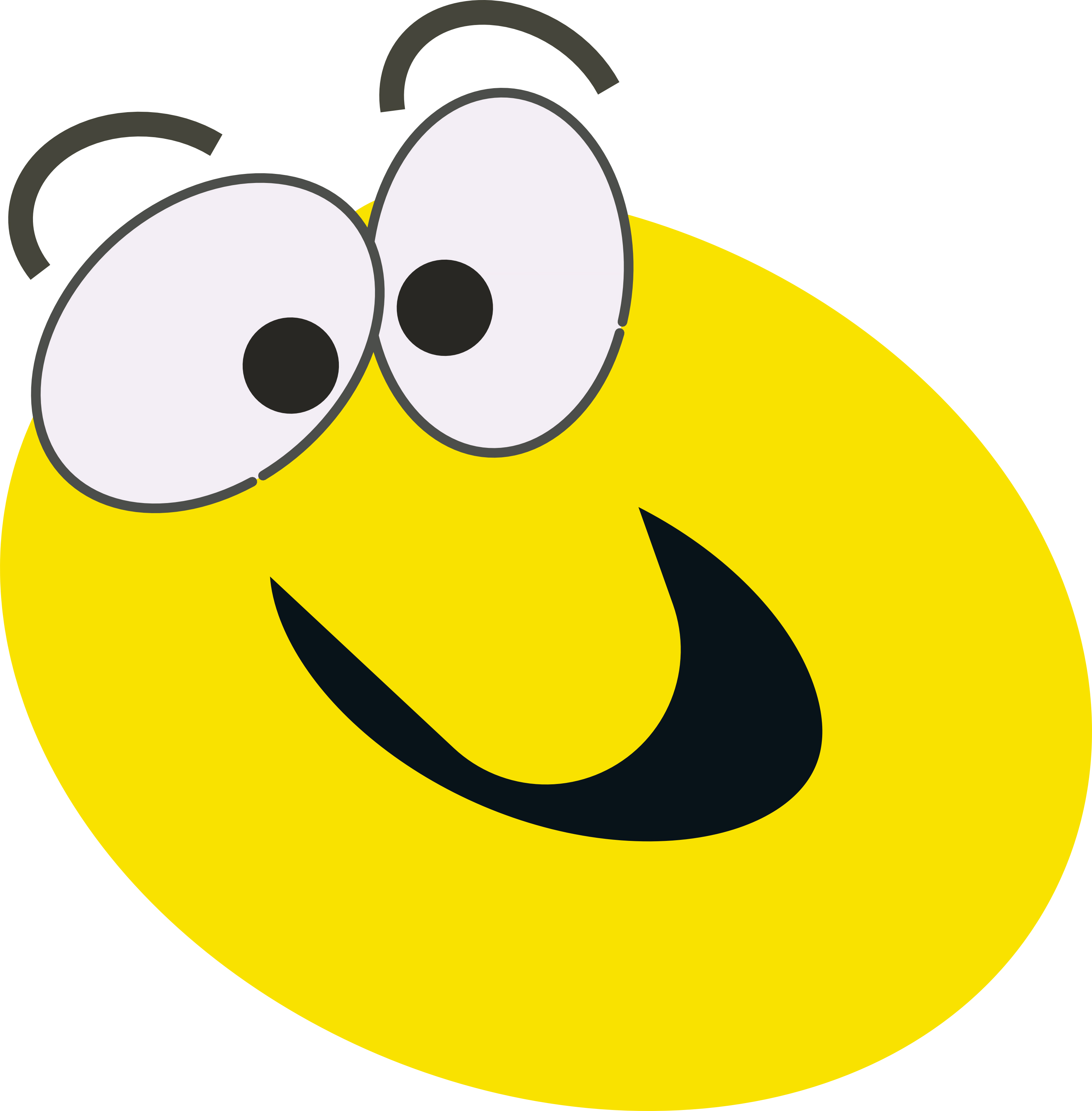 3145x3200 Smileys Clipart Surprised