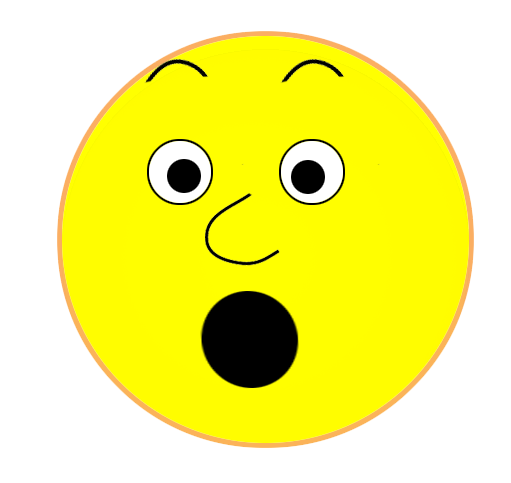 511x483 Surprised Face Clipart