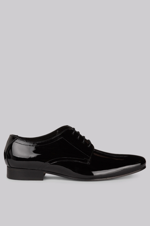 2000x3000 Moss 1851 Black Patent Dress Shoes