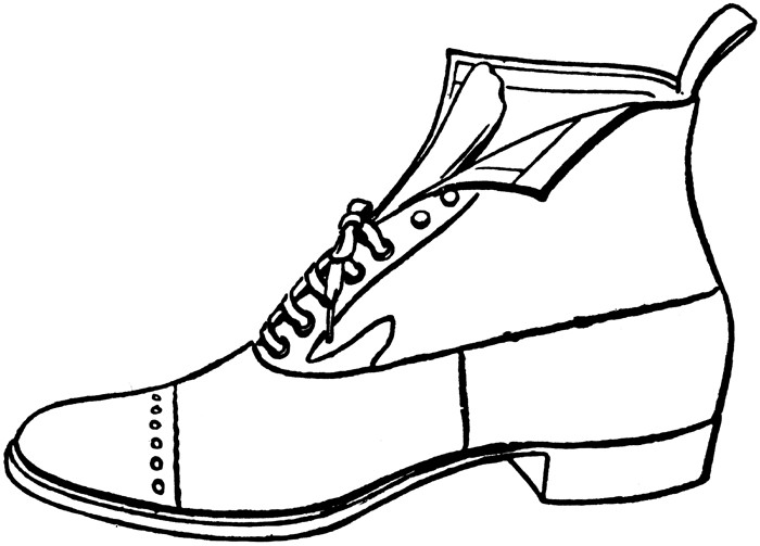 700x503 Shoe Clipart