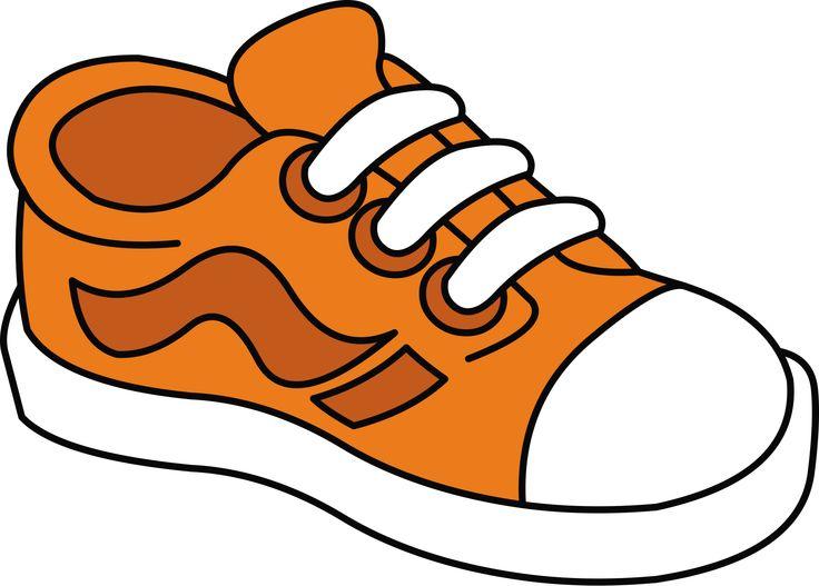 736x527 Shoe Clipart Orange