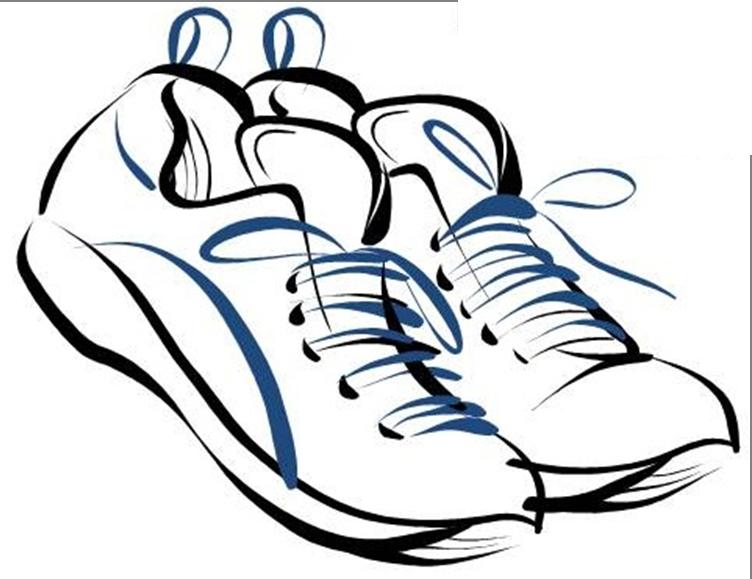 752x579 Track Shoe Shoe Clip Art Clipart Clipartcow Image