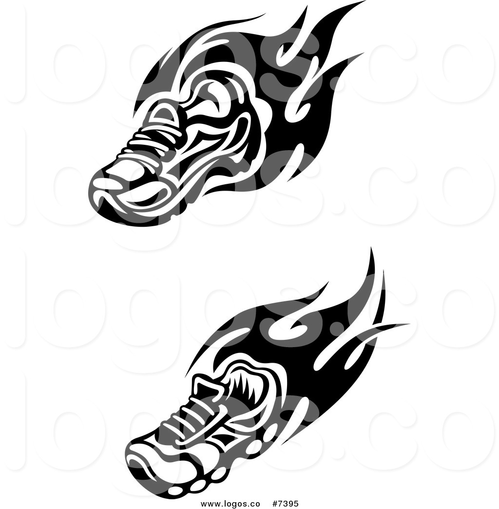 1024x1044 Royalty Free Clip Art Vector Logos Of Flaming Trainer Shoes
