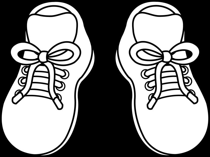 830x621 Shoe Clipart