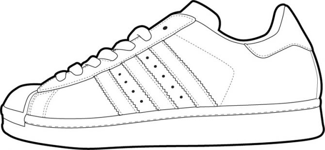 670x309 Shoe Clipart White Vans