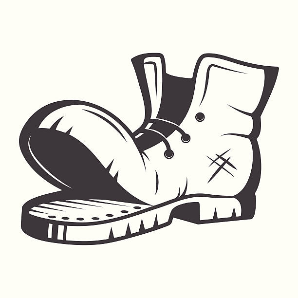 612x612 Boots Clipart Old Shoe