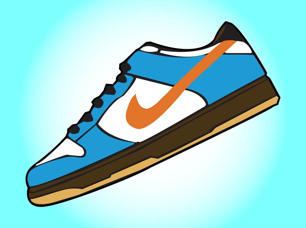1024x765 Sneakers Clipart Nike Shoe