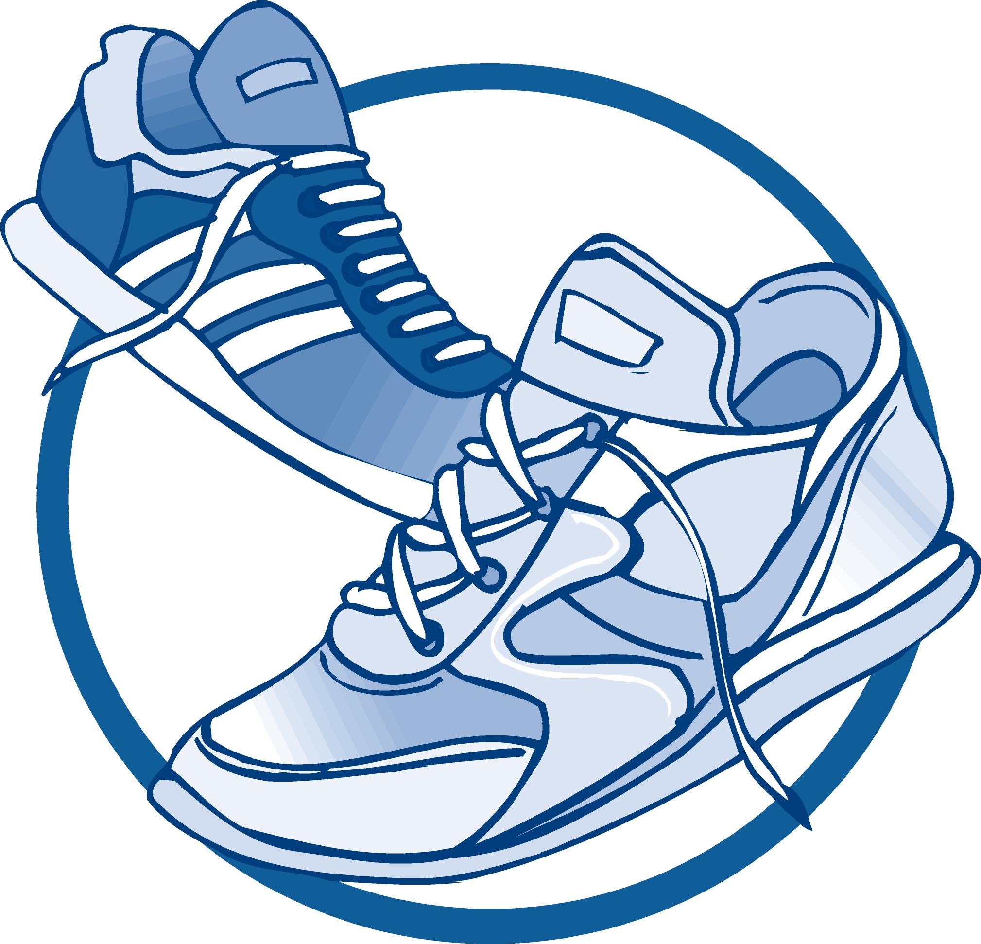2019x1942 Tennis Shoe Clipart