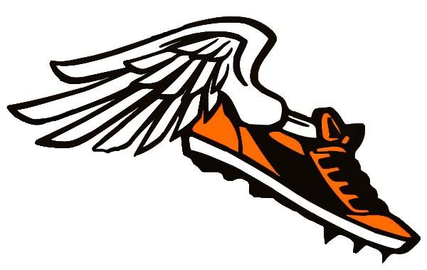 600x379 Track Shoe La Porte Independent School District Clip Art