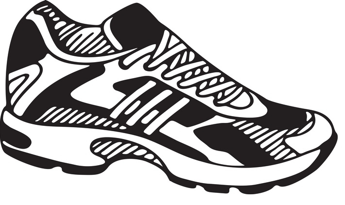 710x422 Clipart Running Shoes Many Interesting Cliparts