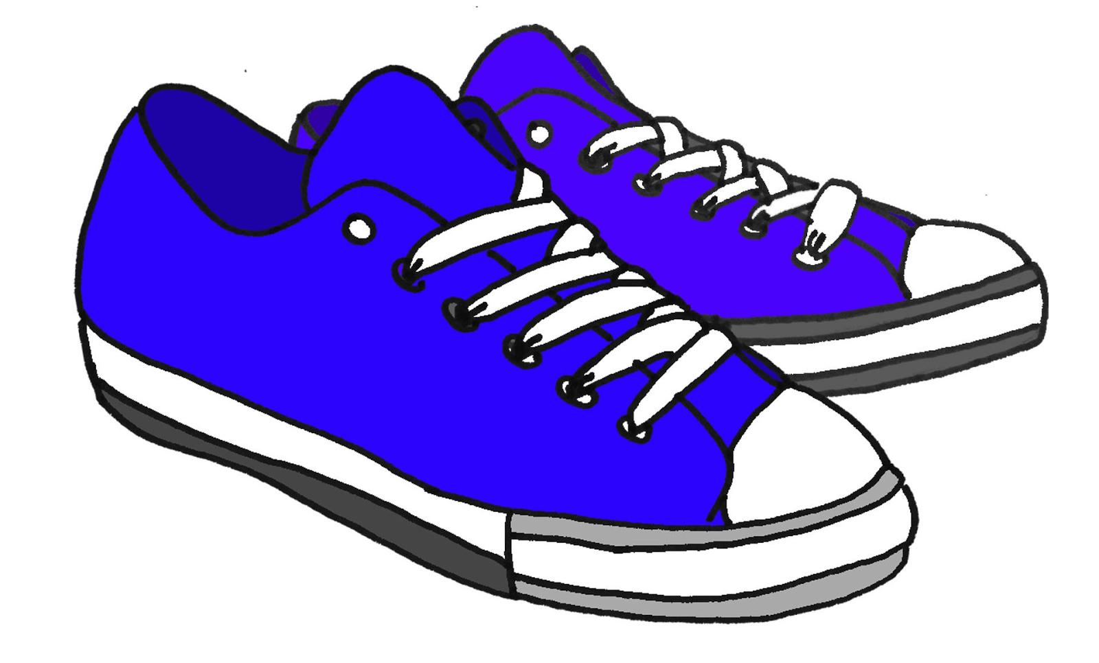 1600x966 Converse Shoe Walking Clipart Kid