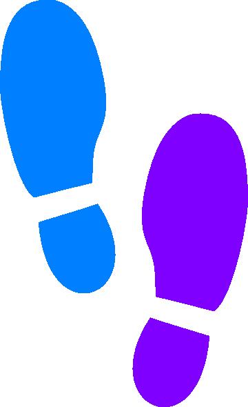 360x590 Shoe Print Clip Art