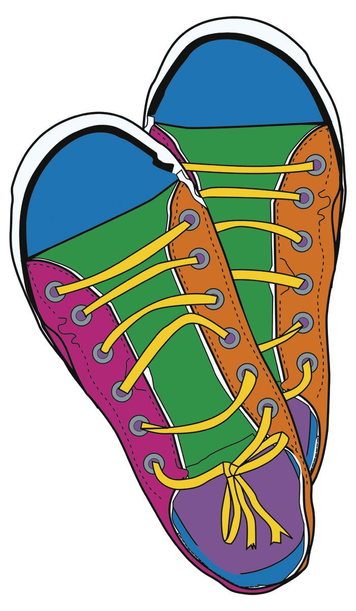 700x1200 Sneakers Clip Art