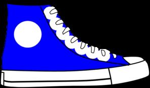 297x174 Blue Shoe Clip Art