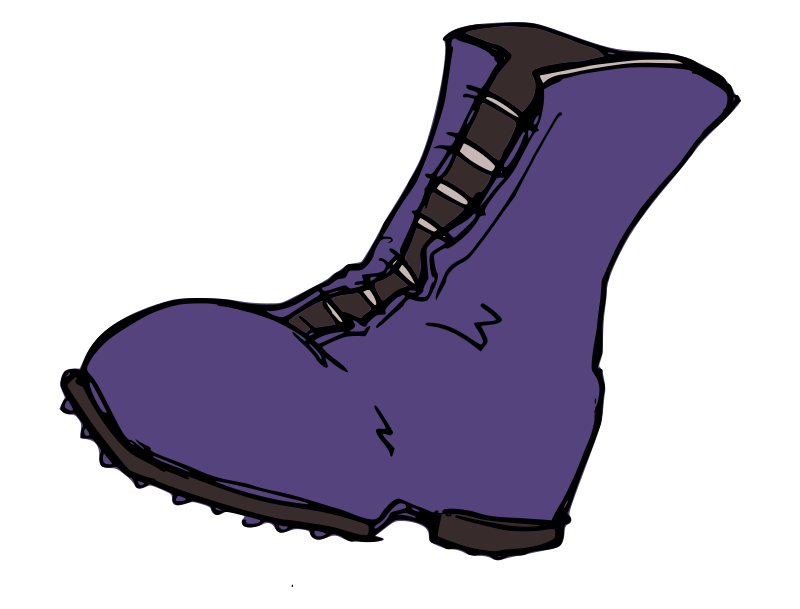 800x609 Clip Art Of Shoes And Boots Clipart