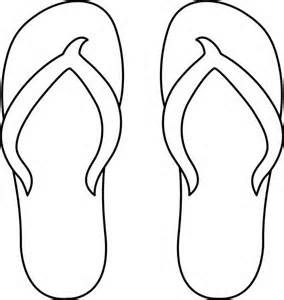 Shoe Outline Clipart