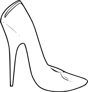 282x297 Shoe Clip Art You Can Walk Away