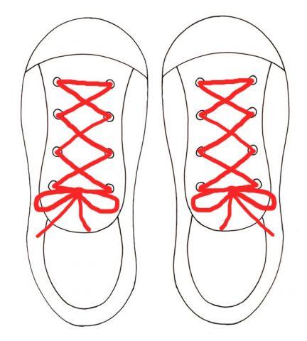 432x480 Tie My Shoe Activity Ziggity Zoom