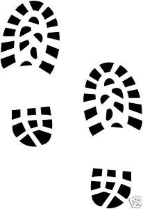 206x300 Footprint Clipart Bootprint
