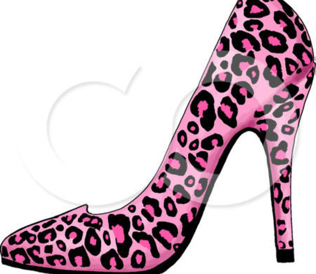 617x534 High Heeled Shoe Clipart